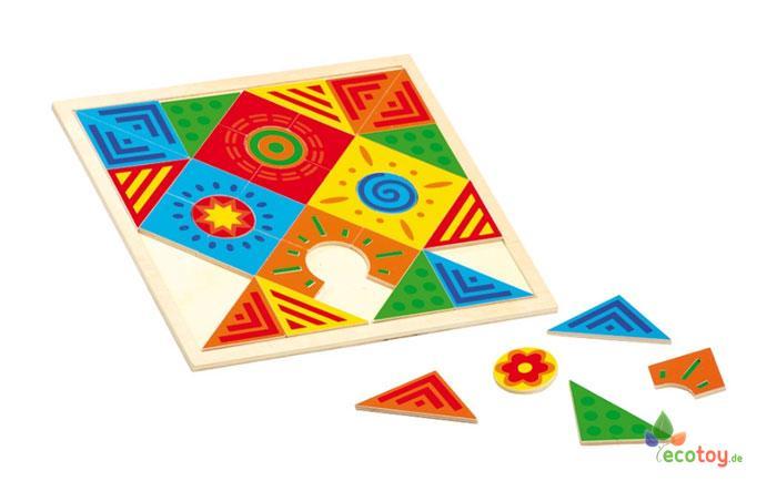 mosaik fantasie montessori spielzeug zur f rderung von kreativit t ab 3 jahre. Black Bedroom Furniture Sets. Home Design Ideas