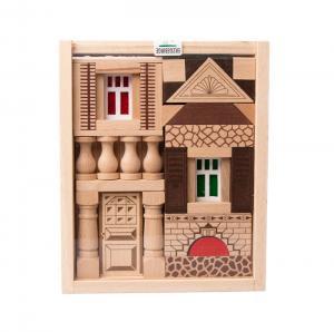 Holzspielzeug Baukasten Residenz aus Buchenholz