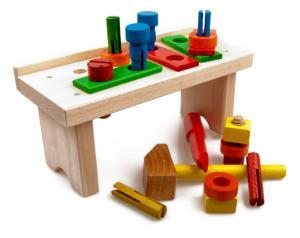 kinderwerkbank worky f r kleinkinder. Black Bedroom Furniture Sets. Home Design Ideas